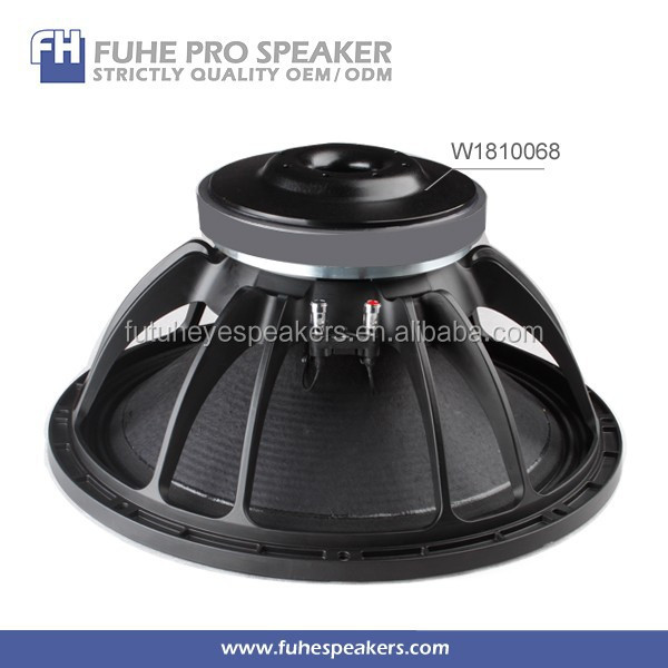 W1810068 18 inch pa coil copper subwoofer/sub woofer speaker