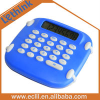 Big size rubber desktop calculator for promotion