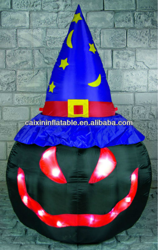 2013 new design inflatable halloween decorations with LED light