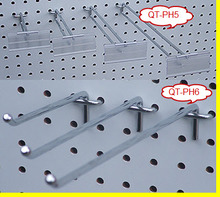 China yiwu pegboard flip scan display hooks