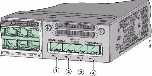 Cisco Catalyst 3850 4 x 1GE Network Module C3850-NM-4-1G