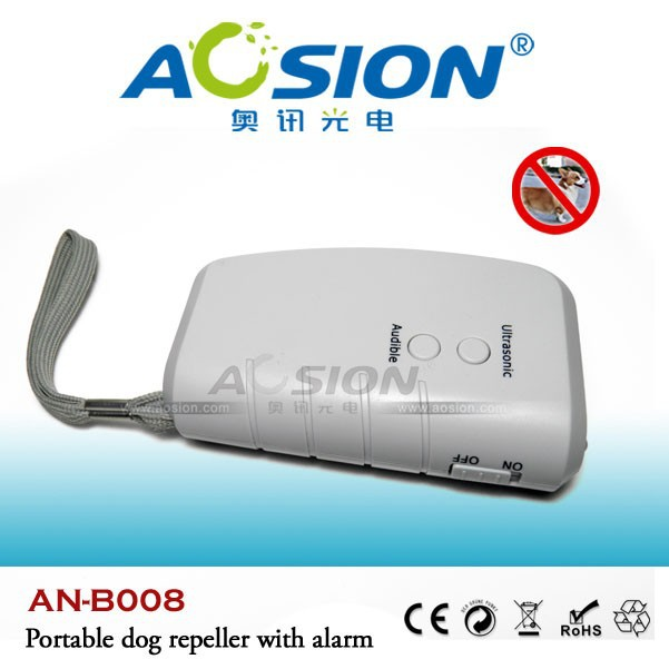 AOSION production portable ultrasonic electronic anti dog barking devices