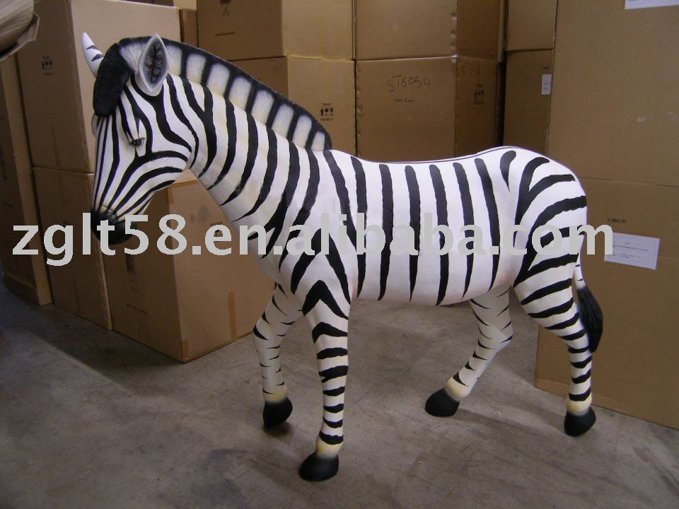 Cartoon animal zebra life size zebra