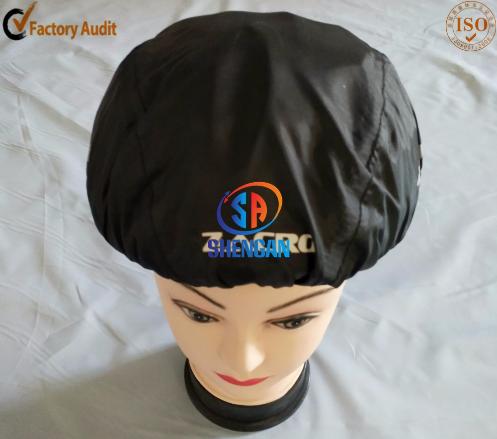 high quality black color bicycle helmet cover