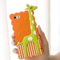 Fantastic touch flexible tailor made silicone 5.5 5 inch mobile phone case for phone 6 and plus