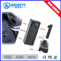 Cheap hidden camera S918 shirt button hole mini hidden camera 32gb sd card long time recording BS-791
