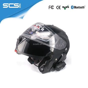 Helmet Bluetooth Intercom for 6 Motorcycle Riders Group Chatting Bluetooth Vnetphone