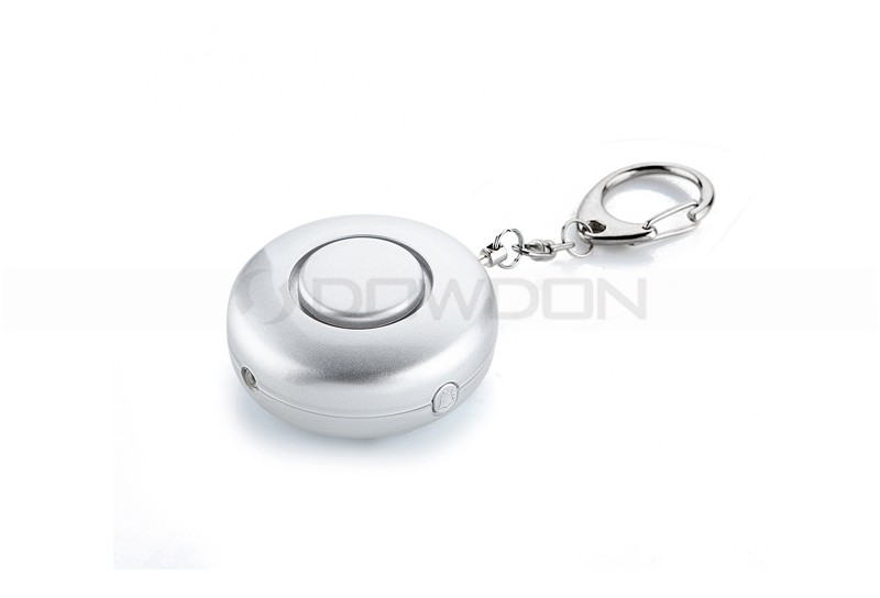 Mini Cute Round ShapePortable Mini Cute Round Shape Personal Alarm With Flashing LED Light