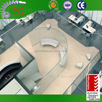 Restaurant Hall Curved Partition