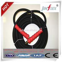 black color rubber material high pressure water hose