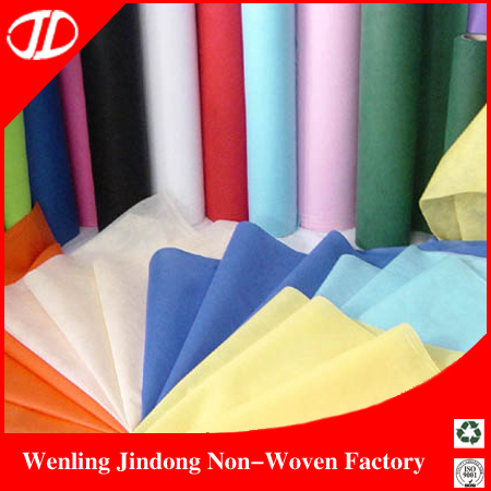 Chinese Supplier Wholesale Recycle Disposable 90gsm Spun Bond Polypropylene Non Woven Fabric