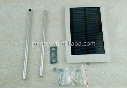 Waterproof 15 LED Solar Sensor Ultra-thin Outdoor Wall Street Light Garden Lamp (JL-4528)