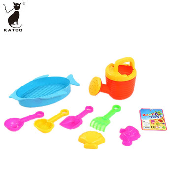 Cheap Accessories Summer New Design Kids Water Play Bach and Pool Kit Storage Castle Building Digger Sand Toy