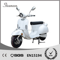 2014 new design !!! Best sports disc brakes 120/70-10 tubeless tire EEC approved electric motorcycle