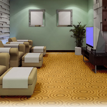 Hotel style carpet massage room game room rest room carpet