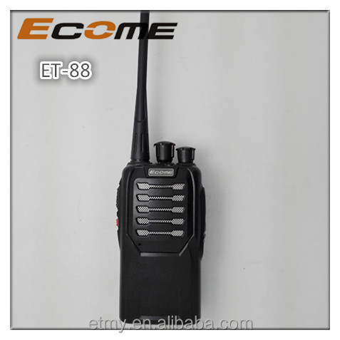 ECOME ET-88 5w portable hot sell walkie talkie