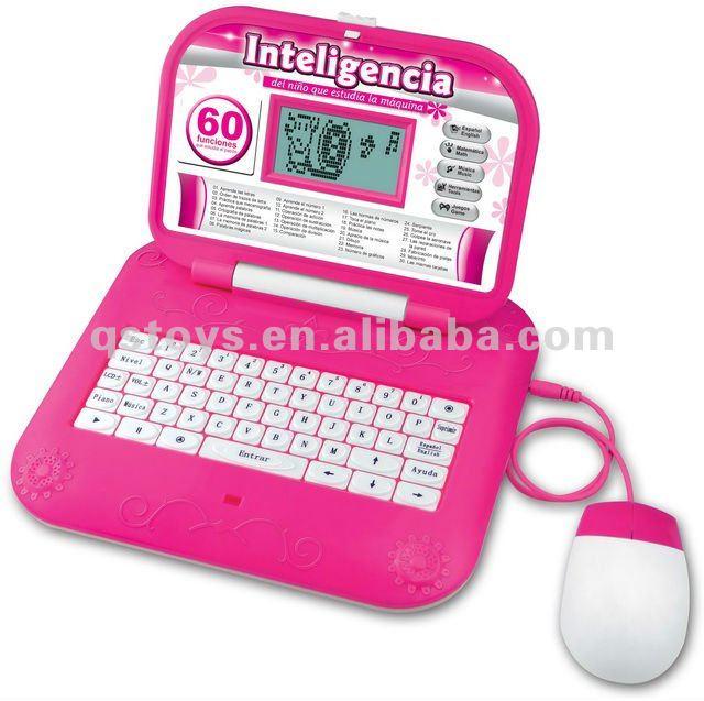 Portuguese Learning Toys : Brinquedos educativos crianças laptop aprendizagem inglês