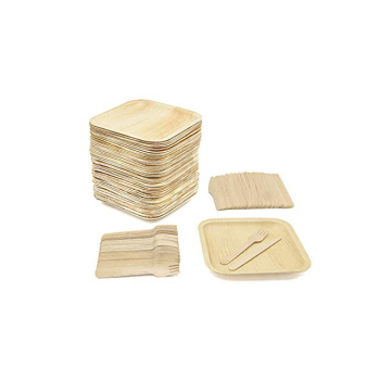 Multipurpose factory disposable bamboo wood dinner plates wholesale
