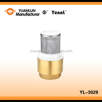 Manufacturer Wholesale Price Standard YL-3029 Stainless Streel Filter Brass 1/2