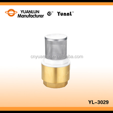 "Manufacturer Wholesale Price Standard YL-3029 Stainless Streel Filter Brass 1/2"" Spring Check Valve"