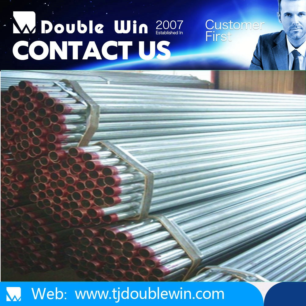 Electronic pipe galvanizado tubo building structural lowes fence post steel pipe with galvanized