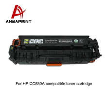 Cartridge toner CC530 series compatible laser color toner cartridge for HP printer
