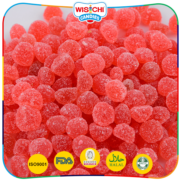 Funny packaged healthy snack halal gummy ball candy