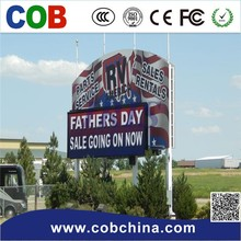 P10 Outdoor Full Color LED Display For Video and Shopping Center