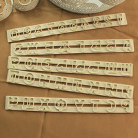 Russian Emboss ABS Mould High Quality Plastic Mould Hot Selling Cream Dector Mold Decorating Tools Cake Tools