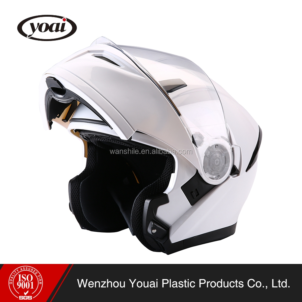 Factory custom high standard security stylish style windproof design motorcycle helmet