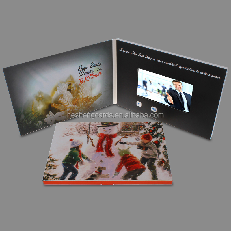 Chirstmas music greeting card for Promotion decoration