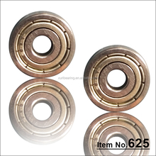 High quality long life ball bearings 625Z door and window bearing pulley wheel bearing