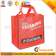 China Supplier Non woven cloth Shopping grocery bag
