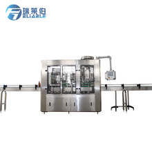 Rotary Small Glass Bottle Filler For Beer Washing Filling Capping 3-in-1 Machine