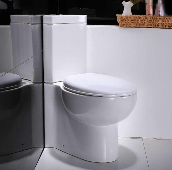 114# washdown corner toilet_two piece back outlet toilet_bathroom corner water closet toilet