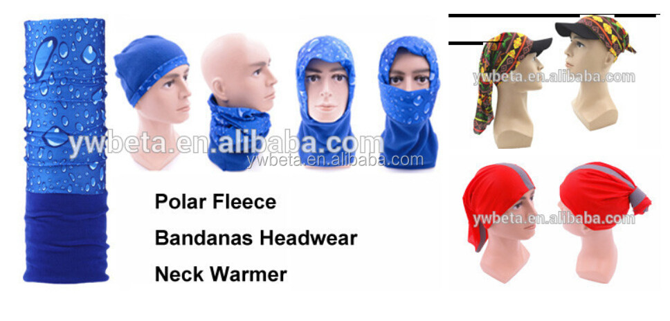 Wholesale Multifunctional Headwear Polyester Seamless Scarf Tubular Scarf
