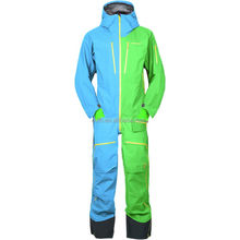 High Performance Men Snowboard Overall One Piece Ski Jumpsuit