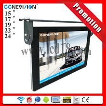 "Ipad style 15"" 17"" 19"" 22"" 24"" inch 1080P full HD lcd 3g wifi bus advertising screen"