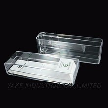 Simple clear plastic glasses cases for watch storage box