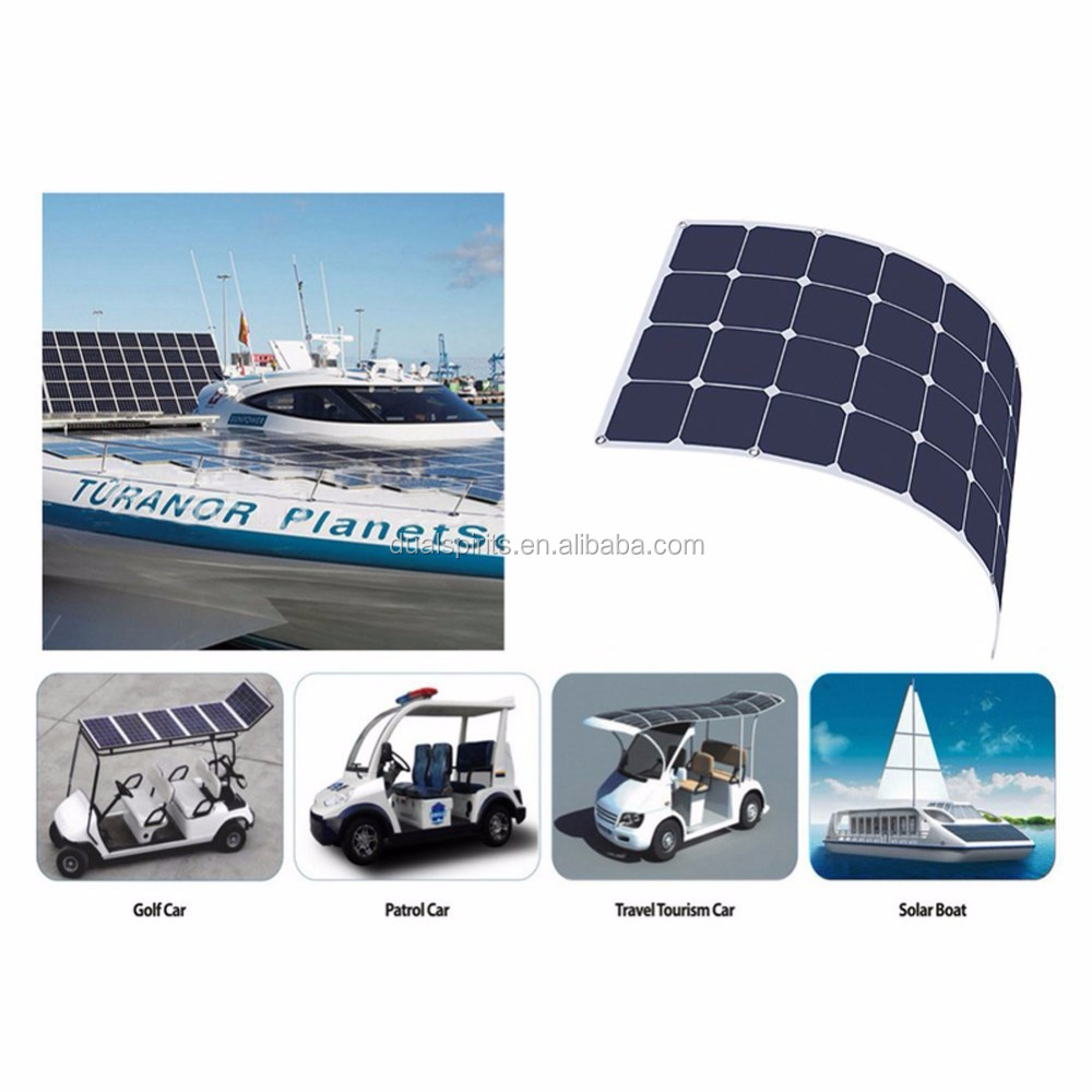 Guangzhou monocrystalline cell 100W solar panel for home electricity supplier