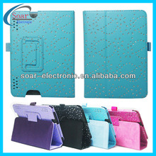 accept paypal leaf leather case for kindle fire hdx 7