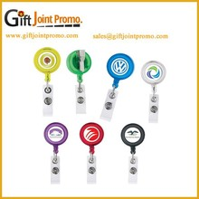 Retractable Pull Badge Reel Name Tag Holder