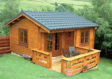 Low cost portable wooden prefabricated bungalow