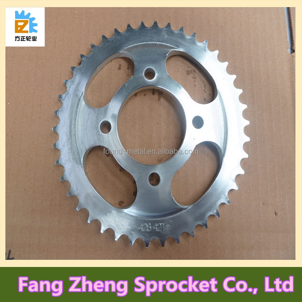 OEM Quality Replacement Motorcycle Front and Rear Sprocket