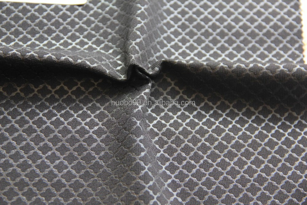 100% polyester knit PE coated fabric