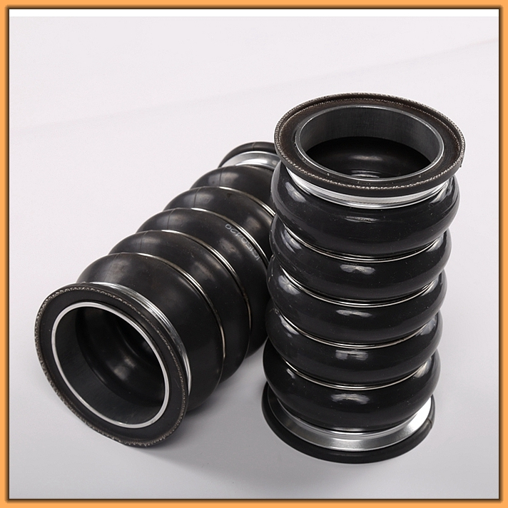 Ozone-resisting heat-resisting rubber tube good quality low pressure silicon rubber tubing for supercharger