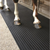 Easy cleaning horse/cow stall mats
