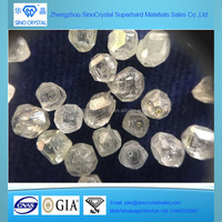 Best quality raw synthetic diamonds HPHT uncut rough diamonds for sale