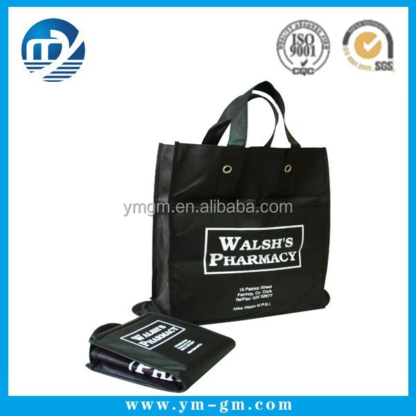 Custom printed blank non woven wholesale tote bags for promotion