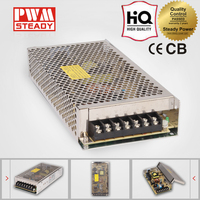 High frequency single output led 100w adjustable switching mode power supply 5v 12v for plating
